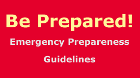 Disaster Preparedness Info