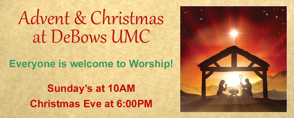 Advent & Christmas at DeBows UMC