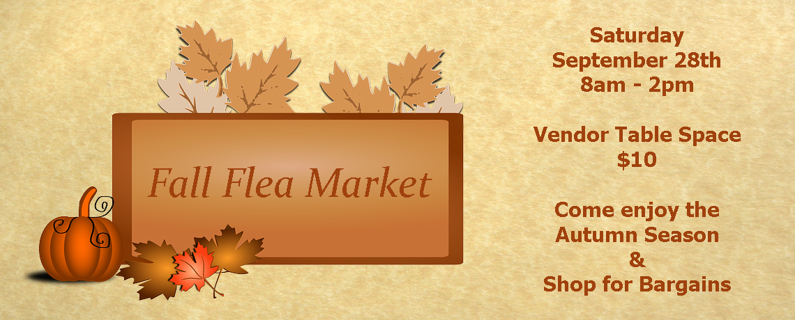 Early Fall Flea Market