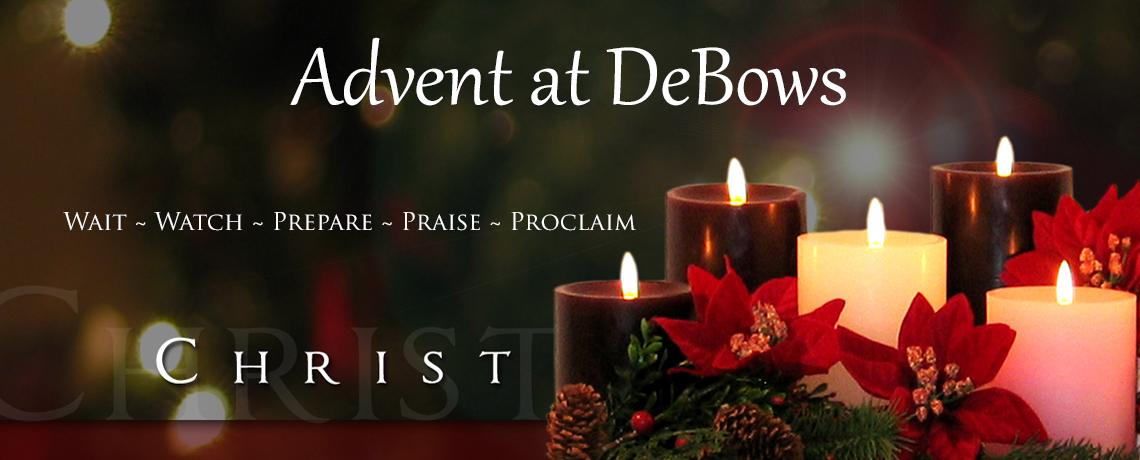2019 Advent Schedule